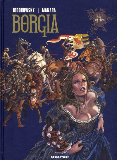Couverture Borgia tome 4 - tout est vanité