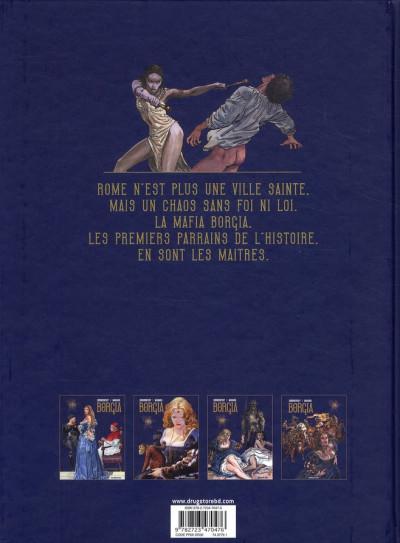 Dos Borgia tome 4 - tout est vanité