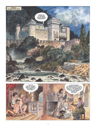 Page 1 Borgia tome 4 - tout est vanité