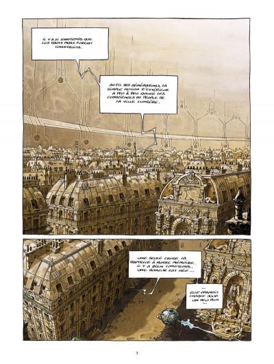 Page 1 la cité de l'arche tome 1 - ville lumière