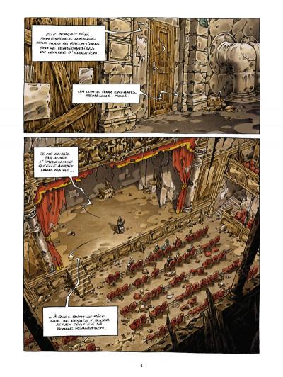 Page 2 la cité de l'arche tome 1 - ville lumière