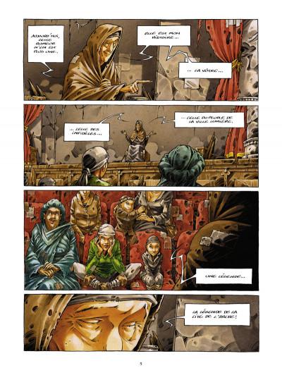 Page 3 la cité de l'arche tome 1 - ville lumière