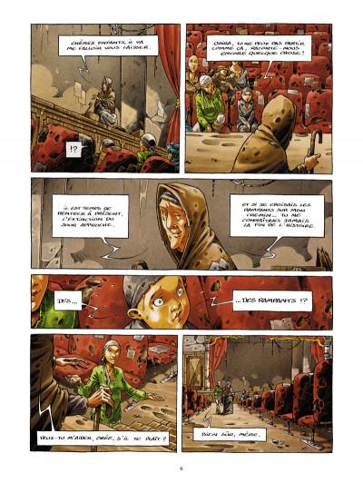 Page 4 la cité de l'arche tome 1 - ville lumière