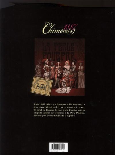 Dos chimère(s) 1887 tome 1 - la perle pourpre