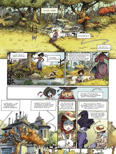 Page 1 chimère(s) 1887 T.1 - la perle pourpre