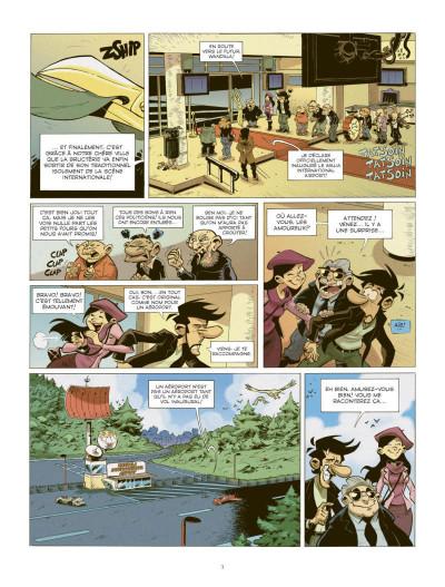 Page 1 les patriciens tome 2 - Wandala - année zéro