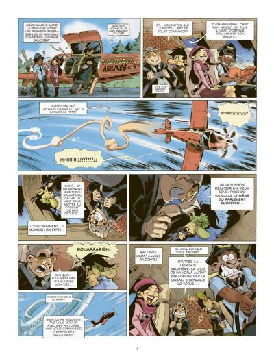 Page 2 les patriciens tome 2 - Wandala - année zéro