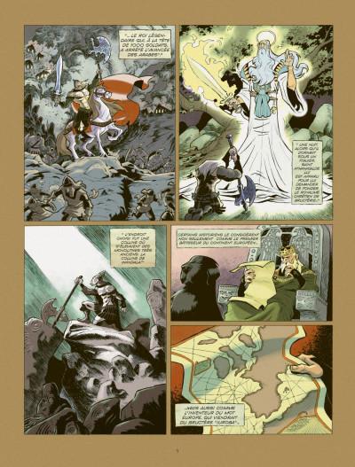 Page 3 les patriciens tome 2 - Wandala - année zéro