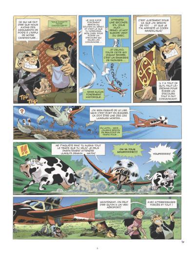 Page 4 les patriciens tome 2 - Wandala - année zéro