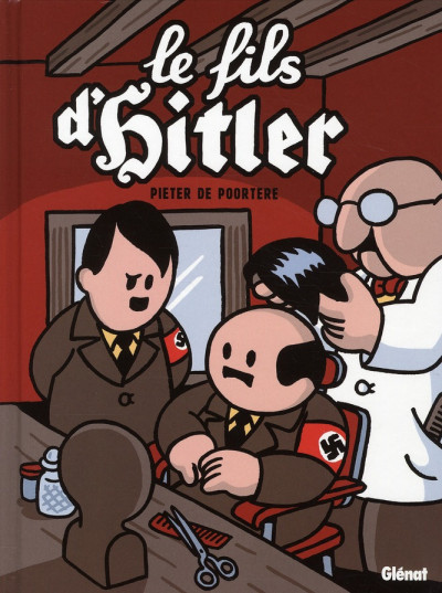 Couverture le fils d'Hitler ; une aventure de Dickie