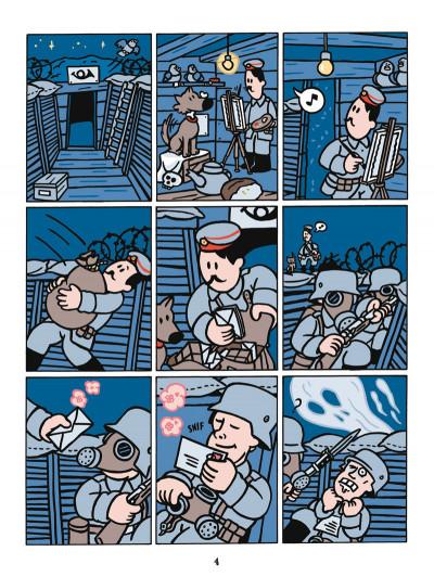Page 3 le fils d'Hitler ; une aventure de Dickie