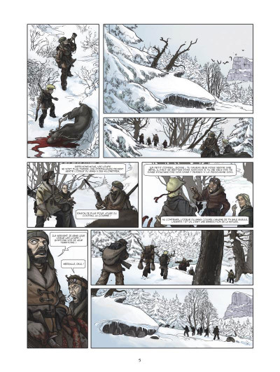 Page 3 Neige fondation tome 1 - le sang des innocents