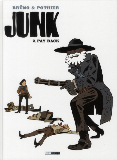 Couverture junk tome 2 - pay back
