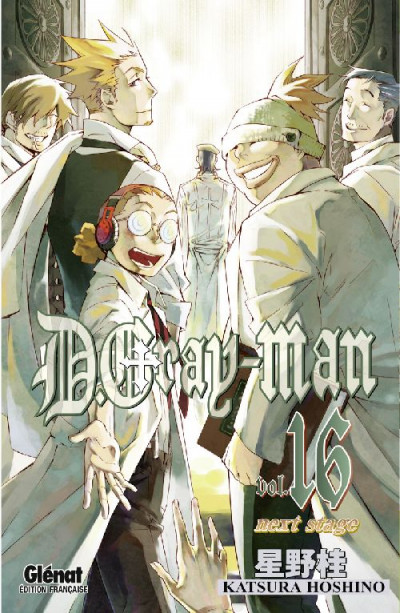 Couverture d.gray-man tome 16 - next stage