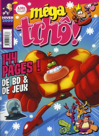 Couverture méga tchô ! (édition hiver 2009)