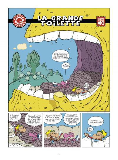 Page 2 samson et néon tome 7 - cosmik comiks