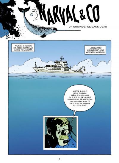 Page 1 narval tome 1 - l'homme de fond
