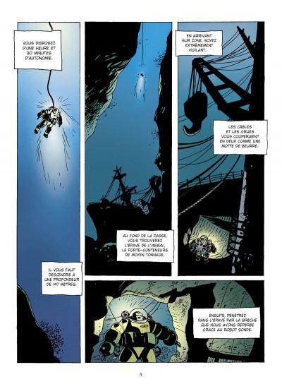 Page 3 narval tome 1 - l'homme de fond