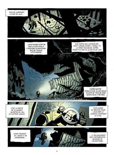 Page 4 narval tome 1 - l'homme de fond