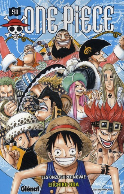 Couverture one piece tome 51 - les onze supernovae