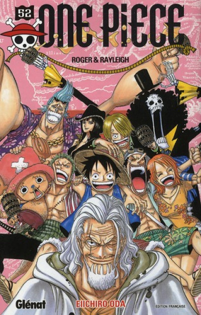 Couverture one piece tome 52 - Roger & Rayleigh