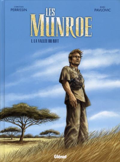 Couverture les Munroe tome 1 - la vallée du rift