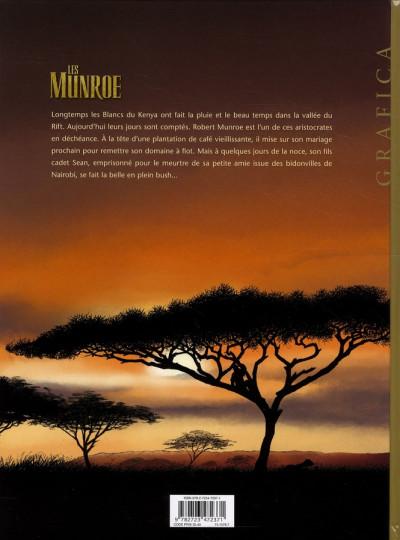 Dos les Munroe tome 1 - la vallée du rift