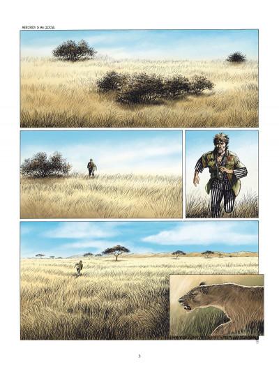 Page 1 les Munroe tome 1 - la vallée du rift