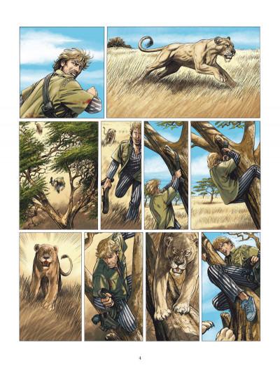 Page 2 les Munroe tome 1 - la vallée du rift