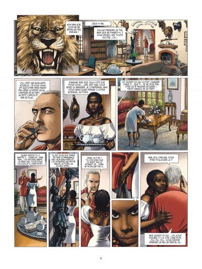 Page 4 les Munroe tome 1 - la vallée du rift