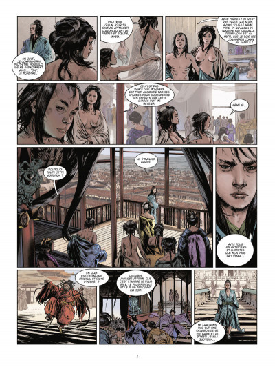 Page 3 La voie du sabre tome 1