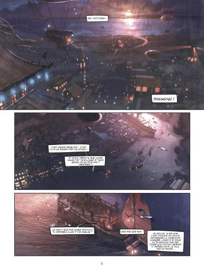 Page 1 Shanghaï tome 1 - l'enfant de la pluie - shangai