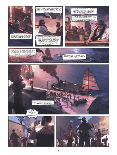 Page 2 Shanghaï tome 1 - l'enfant de la pluie - shangai
