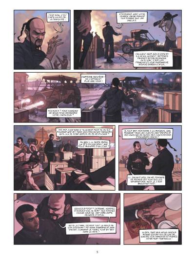 Page 3 Shanghaï tome 1 - l'enfant de la pluie - shangai