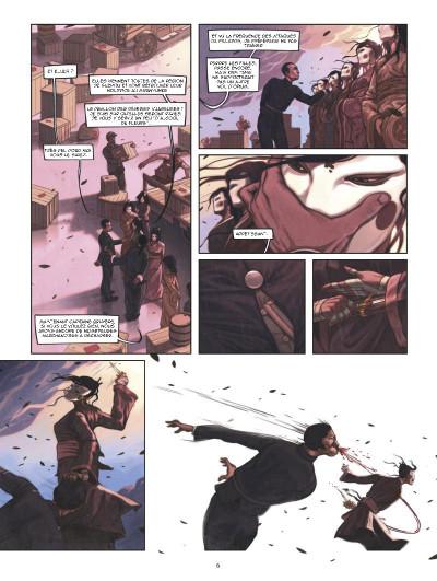 Page 4 Shanghaï tome 1 - l'enfant de la pluie - shangai