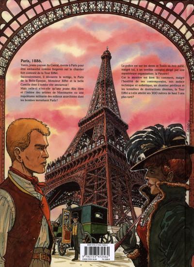Dos le mystère Tour Eiffel
