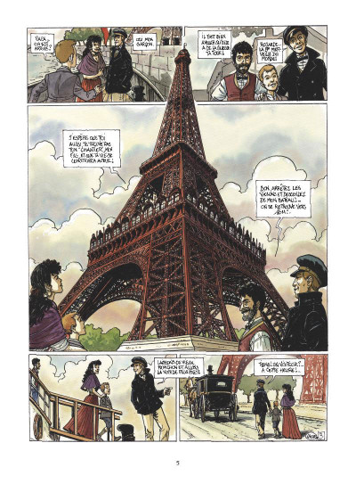 Page 3 le mystère Tour Eiffel