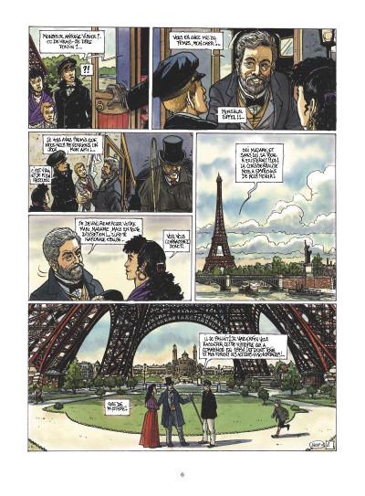 Page 4 le mystère Tour Eiffel