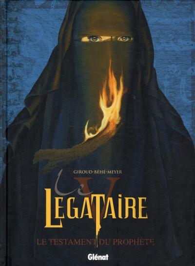 Couverture le légataire tome 5 - le testament du prophète