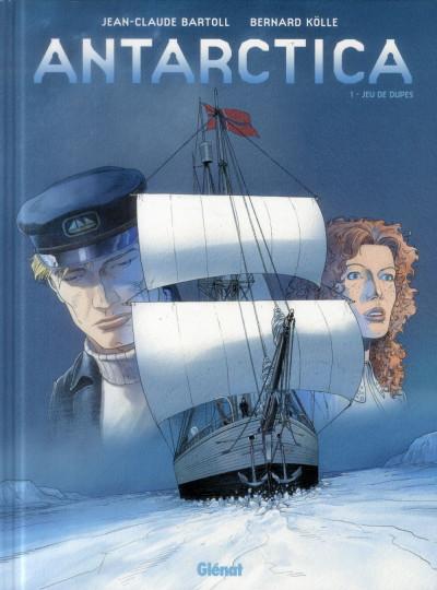 Couverture Antarctica tome 1