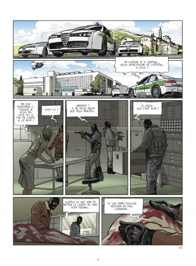 Page 2 terroriste tome 3 - Genève