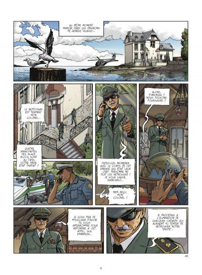 Page 4 terroriste tome 3 - Genève