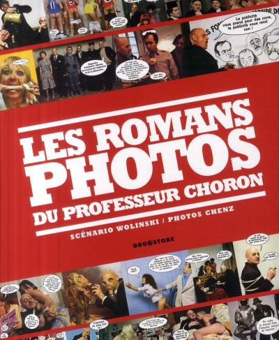 Couverture les romans photo du professeur choron : réponse à tout