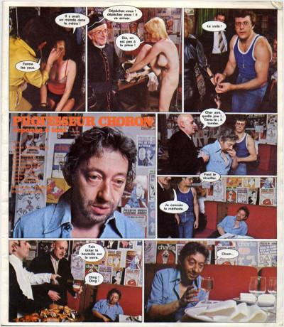Page 1 les romans photo du professeur choron : réponse à tout