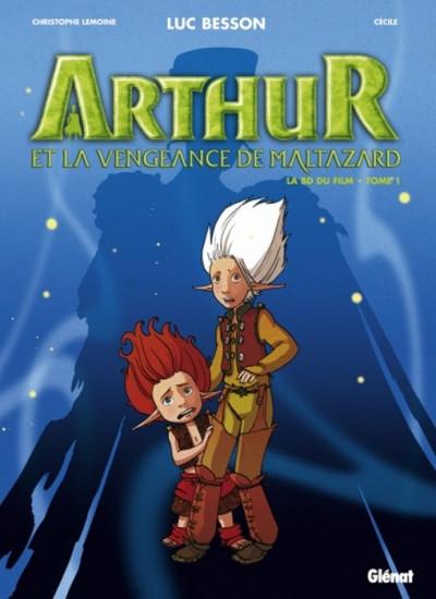 image de arthur et les minimoys - arthur et la vengeance de maltazard tome 1