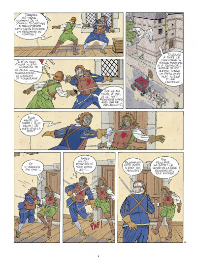 Page 2 masquerouge - intégrale tome 4 à tome 6