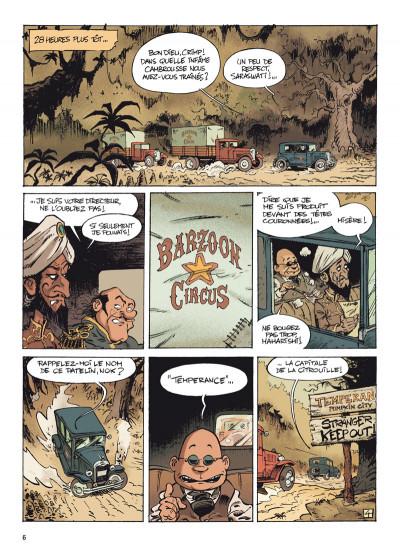 Page 4 barzoon circus tome 1 - le jour de la citrouille