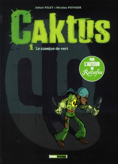 image de Caktus tome 1 - le masque vert