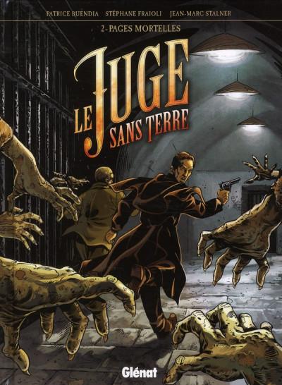 image de le juge sans terre tome 2 - pages mortelles