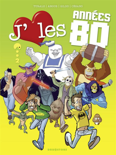 image de j'aime les années 80 tome 2